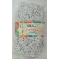 Crucci Shagadelic Knitting Yarn, 100% Polyester 50g Ball