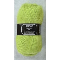 Crucci Aquarius Knitting Yarn, 50% Acrylic 50% Nylon, 100g Ball #102 LIME