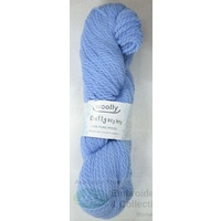 Woolly Crafty Knitting Yarn 100% Pure Wool 8 Ply, 100g Hanks #6 BLUE