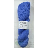 Woolly Crafty Knitting Yarn 100% Pure Wool 8 Ply, 100g Hanks #10 OXFORD BLUE