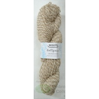 Crafty Marles Knitting Yarn, Pure Wool 8 Ply, 100g Hank #42 WHITE SOFTWOOD