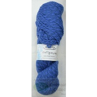 Crafty Marles Knitting Yarn, Pure Wool 8 Ply, 100g Hank #46 DENIM OXFORD BLUE
