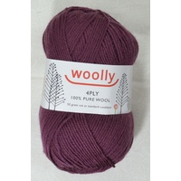 Crucci's Woolly Machine Wash 4 Ply Knitting Yarn, 100% Wool, 50g Ball #9 CAB SAV