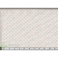 Scandi Check Basics Stars, 112cm Wide per Metre