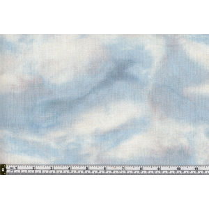 Whistler Studios 100% Cotton Fabric, On Frozen Pond, SKY, 110cm Wide Per METRE