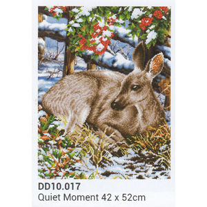 Diamond Dotz 5D Embroidery Facet Art Kit, QUIET MOMENT, Round dots, DD10.017