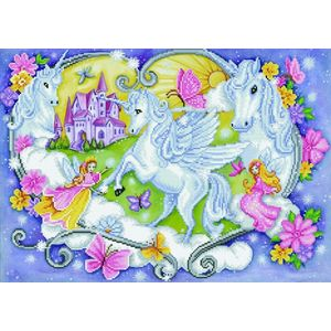 Diamond Dotz 5D Embroidery Facet Art Kit, PRINCESS MAGIC, Round Facets