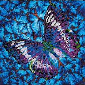Diamond Dotz Embroidery Facet Art Kit, Intermediate Flutter by Mauve
