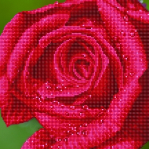 Diamond Dotz 5D Embroidery Facet Art Kit, ROSE DEW DD5.039