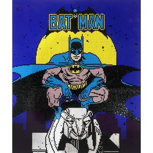 Diamond Dotz BATMAN, 5D Multi Faceted Diamond Painting Art Kit