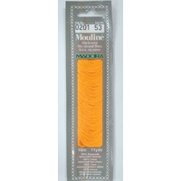 MADEIRA Mouline Stranded Cotton Embroidery Floss 10m Colour 0201