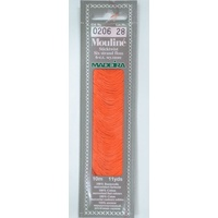 MADEIRA Mouline Stranded Cotton Embroidery Floss 10m Colour 0206