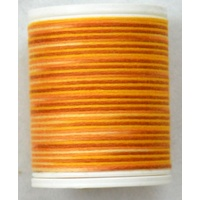 Cotona No. 4, 100M Spool Egyptian Cotton Thread, #2407 SAVANNA VARIEGATED