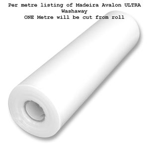 Madeira Avalon Ultra Wash Away Embroidery Stabilizer 50cm Wide Per Metre, Extremely Firm
