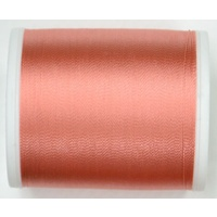 Madeira Rayon 40, #1020 DARK PEACH, 1000m Machine Embroidery Thread