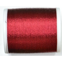 Madeira Metallic 40, 1000M Machine Embroidery Thread, Colour # 315, RUBY RED