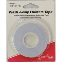 Sew Easy Quilters Wash Away Tape, 8mm x 10 Metres (11yds)