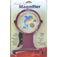 Sew Easy Hands Free 1.5x (4.25x Spot) Magnifier, 105mm Lens, Essential For Craft