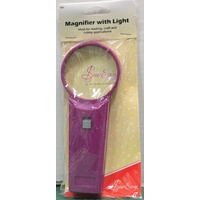 Sew Easy Magnifier With Light, Handy Magnifier With Optical Clarity