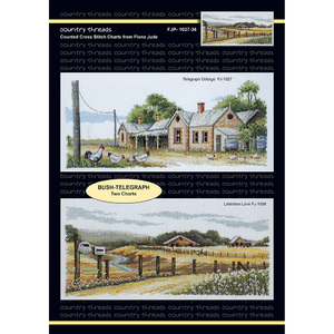 Bush Telegraph Cross Stitch Chart by Country Threads FJP-1027-38
