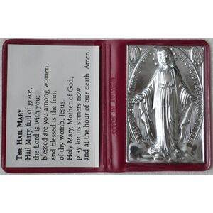 Miraculous Piety Case - Pocket Prayer, The Hail Mary, Assorted Colours