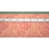 High Tea Coral Pink, 110cm Wide per Metre