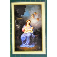 Hymn To Mary Laminated Prayer Card, 110 x 70mm, Holy Card