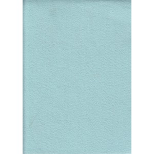 Acrylic Felt Rectangles (Squares), Approximately 30 x 25cm, PALE BLUE, 10 Pack