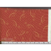Maywood Studios Japanese Garden Per Metre, 110cm Wide (Red Sprig)