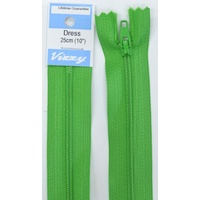 Vizzy Dress Zip, 25cm Colour 111 GRASS GREEN