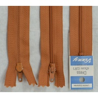 Vizzy Dress Zip, 45cm Colour 16 TERRA COTTA, A Quality Brand Name Zipper