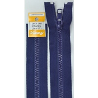 Vizzy Chunky Open End Zip 20cm, Colour 59 FRENCH NAVY