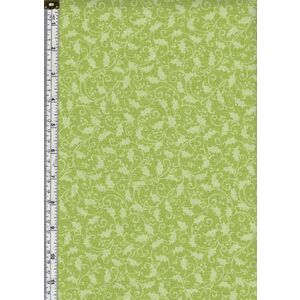 Benartex Fabrics, Better Not Pout SHADOW LIME, 110cm Wide 100% Cotton Fabric By Benartex