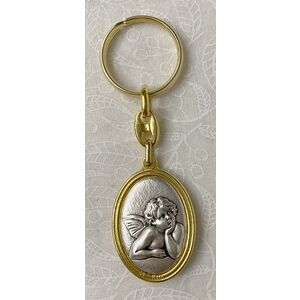 Keyring, Angel / Angel, Double Sided, A Quality Product