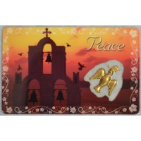 PEACE, Inspirational Card & Charm, 54mm x 85mm, Inspirational Gift