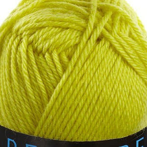 Bergere Ideal Yarn, 40% Combed Wool, 30% Acrylic/Polyamide, 50g Ball, Citronnier