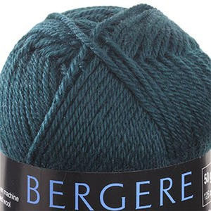 Bergere Ideal Yarn, 40% Combed Wool, 30% Acrylic/Polyamide, 50g Ball, Pinede