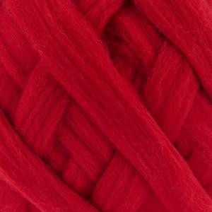 Bergere de France Waouh Chunky 100% Merino Wool, Big 500g Ball, CERISE (10113)
