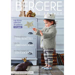 Bergere De France Pattern Magazine 176, Fall-Winter collection, Knitting Patterns in English