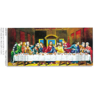 No Count Cross Stitch Kit THE LAST SUPPER, 91 x 41cm by Needleart World