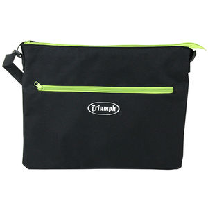 Triumph A4 Light Pad Carry Bag, Black With Green Zips
