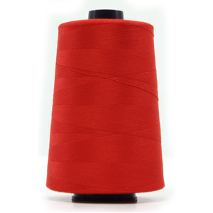 QA (Hemline) Overlocker & Sewing Thread 5000m, RED, 100% Polyester