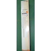Gutermann Ultra Stable Stabilizer, Iron-On Cut Away WHITE, 50cm x 5m