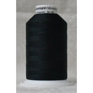 Gutermann Miniking 1000m Universal Sewing / Overlocking Thread Col 000 BLACK