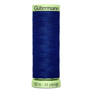 Gutermann Top Stitch Thread 30m, Colour 232 DARK ROYAL BLUE