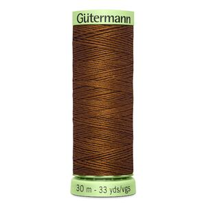 Gutermann Top Stitch Thread 30m, Colour 650 LIGHT CHOCOLATE BROWN