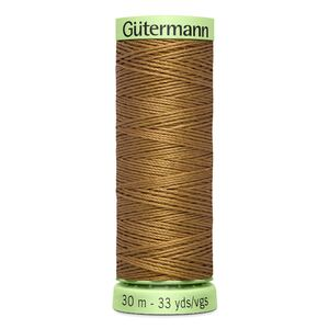 Gutermann Top Stitch Thread 30m, Colour 887 LIGHT BROWN