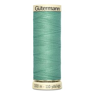 Gutermann Sew-all Thread 100m Colour 100 MISTY GREEN, 100% Polyester