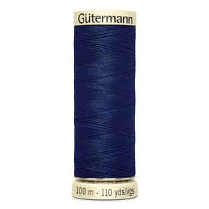 Gutermann Sew-all Thread 100m Colour 13 NAVY BLUE, 100% Polyester