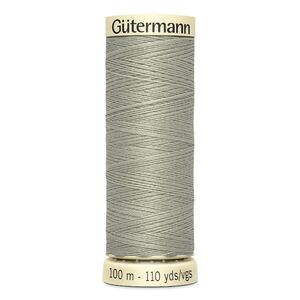 Gutermann Sew-all Thread 100m Colour 132 TAUPE, 100% Polyester